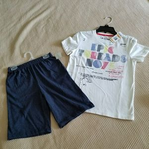 Other - NWT Boys Size 7 shorts & shirt